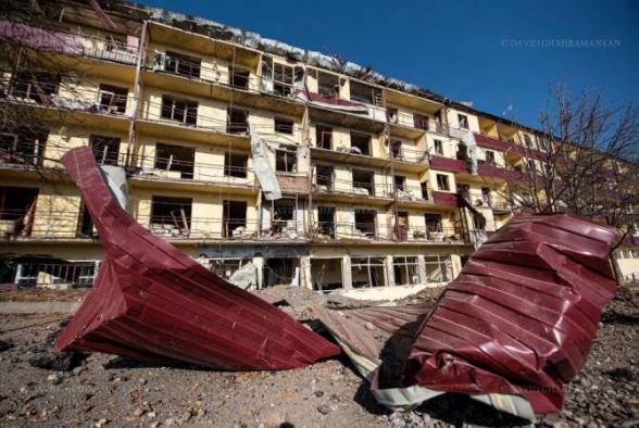 Вооруженные силы Азербайджана пытались нанести удар по городу Шуши