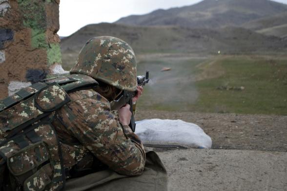 В направлении Бердзора азербайджанские военнослужащие в панике бежали со своих позиций