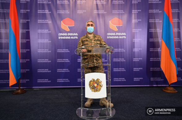 Брифинг представителя Минобороны РА Арцруна Ованнисяна (видео)
