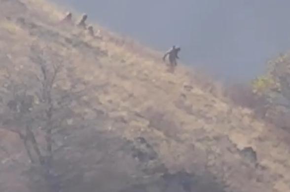 Հակառակորդը փախուստի է դիմում Բերձորի լեռներից. Տեսանյութ