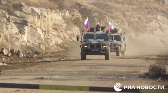 Открылась дорога в Степанакерт через Лачинский коридор (видео)