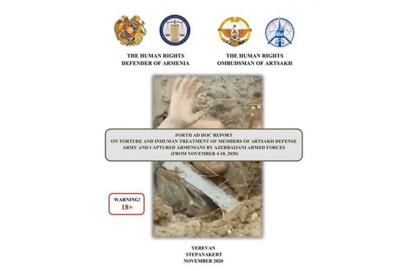 Էթնիկ հայ գերիների ու դիակների նկատմամբ ադրբեջանական զինուժի դաժանությունների թվով 4-րդ զեկույցում ապացույցներով ցույց են տրված բոլոր պատերազմական հանցագործությունները. Արման Թաթոյան