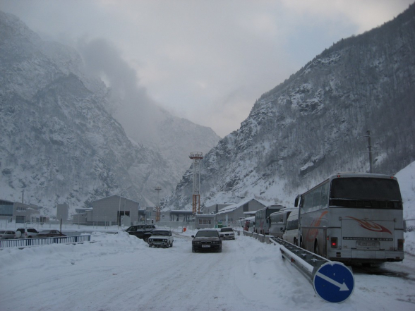 Ստեփանծմինդա-Լարս ավտոճանապարհը փակ է բեռնատար տրանսպորտային միջոցների համար