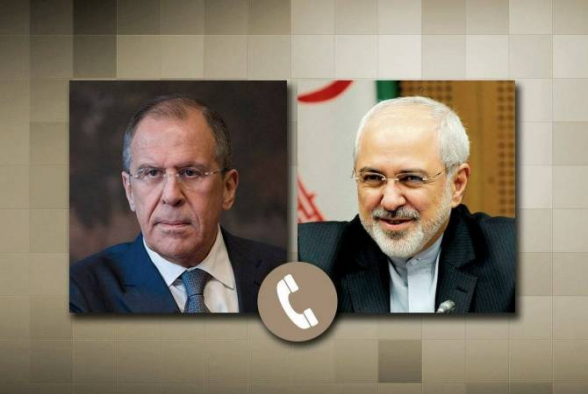 Ռուսաստանի և Իրանի արտգործնախարարները քննարկել են ընթացիկ իրավիճակը Լեռնային Ղարաբաղում