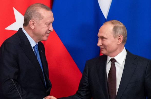 Эрдоган и Путин обсудили создание центра по мониторингу перемирия в Карабахе