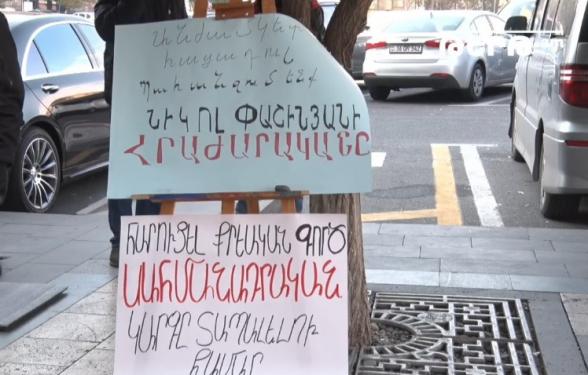 Гегам Манукян и Ким Балаян продолжают голодовку с требованием отставки Пашиняна (прямой эфир)