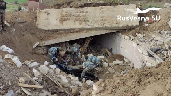 Նոյեմբերի 13-ից Շուշիի շրջանում հայտնաբերվել և յուրաքանչյուր կողմին է փոխանցվել ավելի քան 2000-ական զոհի մարմին. «Русская весна»