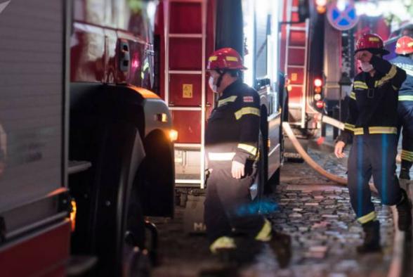 Пожар в центре Тбилиси: погибли 2 человека