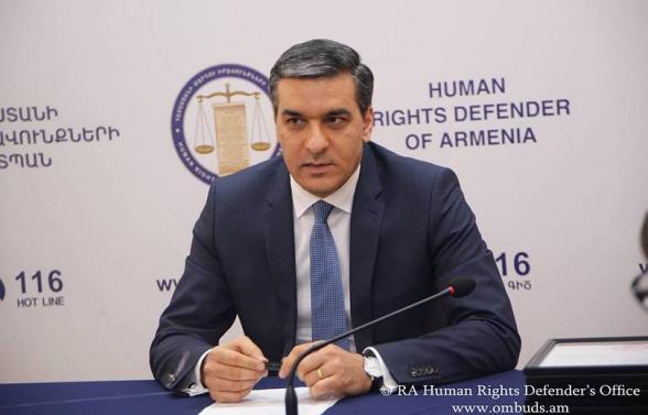 Մարդու իրավունքների պաշտպանն ավարտել է պատերազմի ընթացքում մեր գերիների նկատմամբ ադրբեջանական վայրագությունների վերաբերյալ ապացույցների ձևակերպման հերթական փուլը