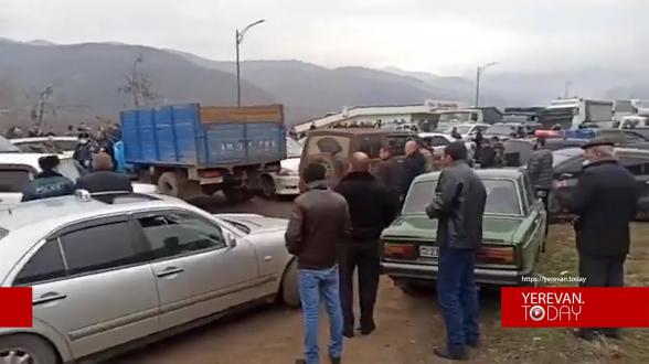 Տեսանյութ.Սյունիքում ակցիայի ժամանակ կրակոցի ձայներ հնչեցին
