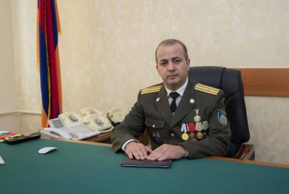 Глава СНБ Армении отправился в Москву