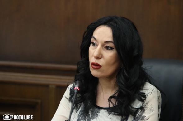 Նաիրա Զոհրաբյանին զրկեցին ԱԺ մարդու իրավունքների հանձնաժողովի նախագահի պաշտոնից