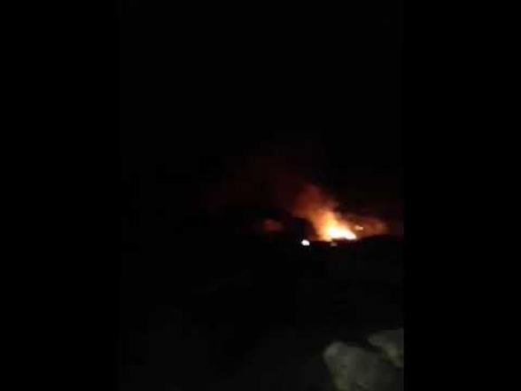 Նիկո՛լ, սա քեզ ամանորյա նվեր. շուռնուխցին այրում է տունը (տեսանյութ 18+)