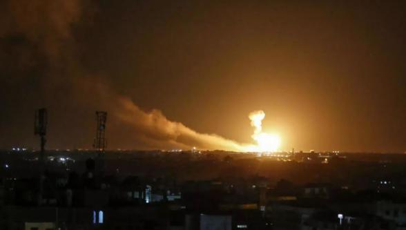 Израиль атаковал Дамаск во время беспорядков в США