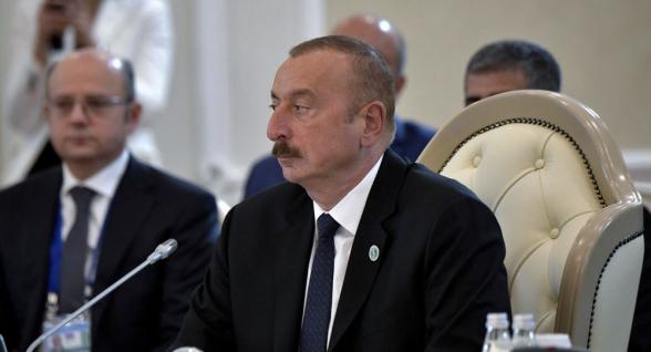 Алиев заявил о конкретных работах по открытию Нахиджеванского коридора