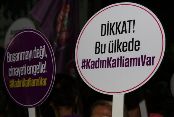 Թուրքիայում շարունակվում են կանանց նկատմամբ բռնությունները
