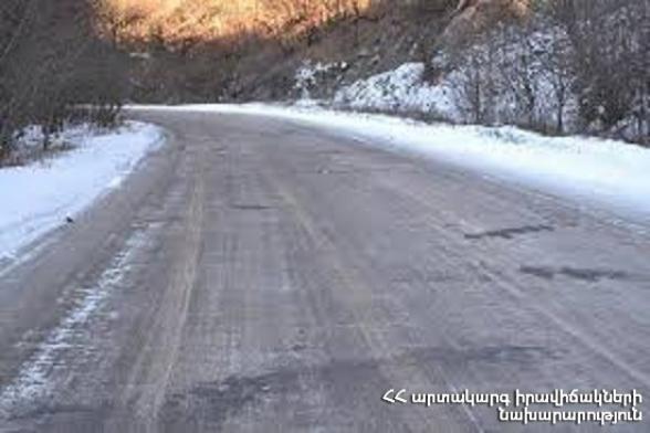 ՀՀ տարածքում կան փակ ավտոճանապարհներ. Ստեփանծմինդա-Լարս ավտոճանապարհը նույնպես փակ է, ռուսական կողմում կա կուտակված 100 բեռնատար