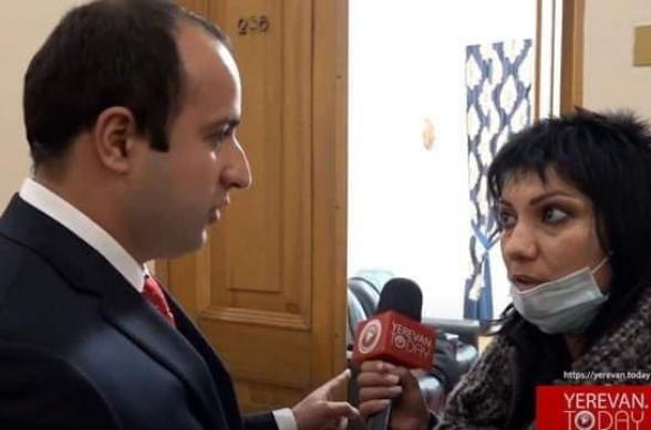 Հայաստանի ժուռնալիստների միությունը դատապարտում է «Իմ քայլը» խմբակցության պատգամավոր Հայկ Սարգսյանի գործելակերպը