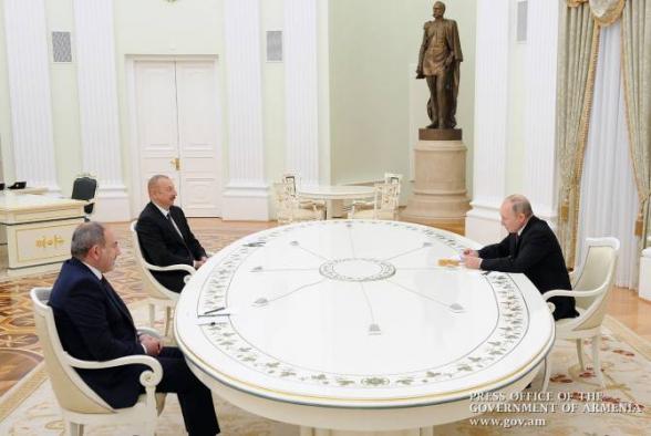 ՌԴ ԱԳՆ-ն ԱՄՆ-ի և Ֆրանսիայի դեսպաններին տեղեկացրել է Պուտին-Փաշինյան-Ալիև հանդիպման մասին
