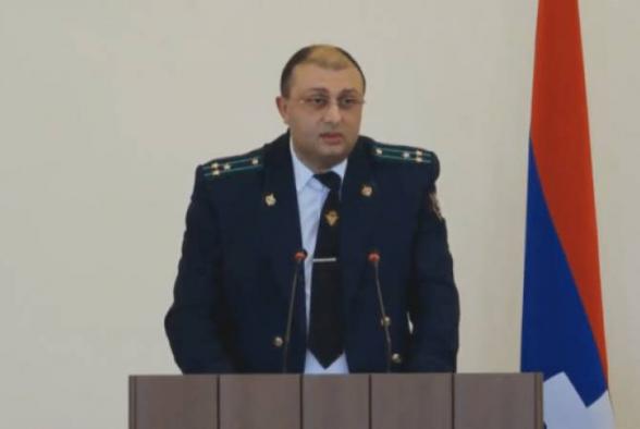 Досрочно прекращены полномочия генерального прокурора Арцаха