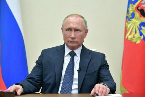 Путин обсудил урегулирование нагорно-карабахского конфликта с членами Совета безопасности России