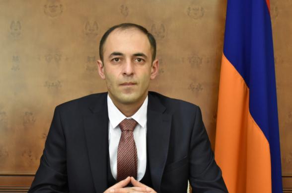 Тигран Улиханян назначен начальником Государственной контрольной службы