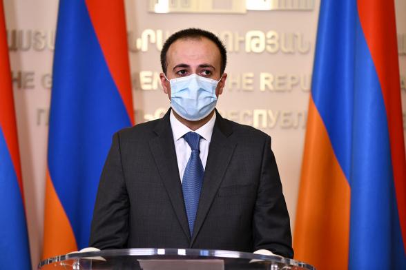 Президент получил предложение Пашиняна об освобождении с должности Арсена Торосяна