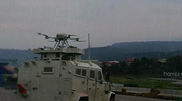 Թուրքիայում մարտական ԱԹՍ-ները համակցել են զրահամեքենայի հետ