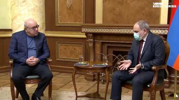 Никол Пашинян пообещал освободить из тюрьмы сына Гургена Арсеняна в обмен на его поддержку – «Mediaport»