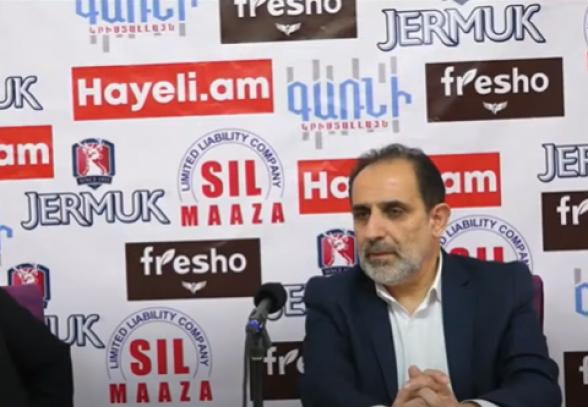 Пресс-конференция Арама Арутюняна (прямой эфир)