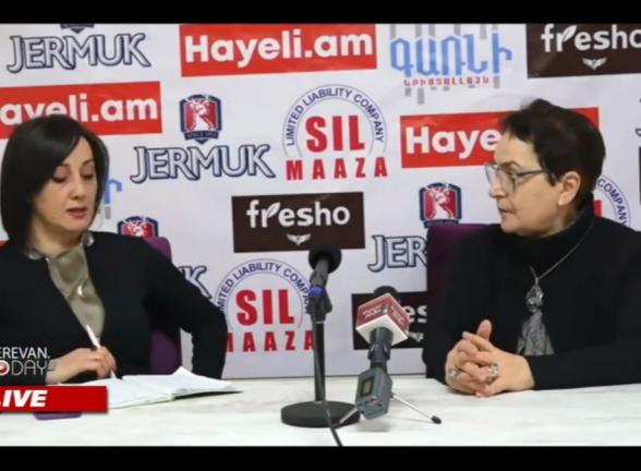 Իրավապաշտպան Լարիսա Ալավերդյանի ասուլիսը (տեսանյութ)
