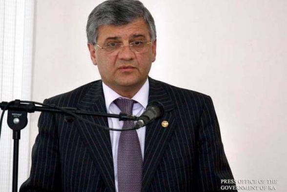 Армен Гуларян освобожден с должности, он будет назначен председателем Комитета по градостроительству