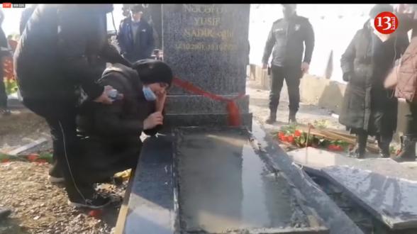 Ильхам Алиев хоронит своих шехидов в болоте