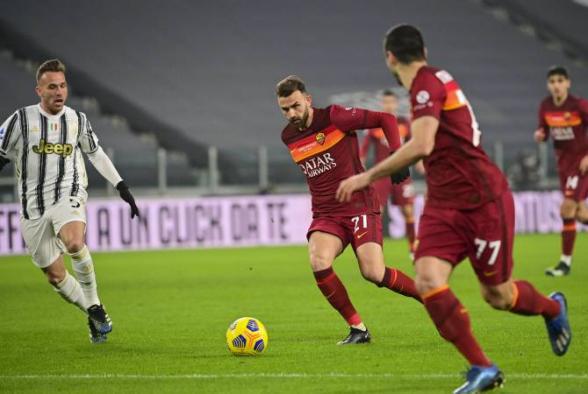 «Рома» проиграла «Ювентусу», Мхитарян отыграл весь матч (видео)
