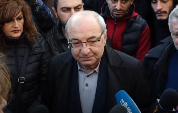 Встреча кандидата в премьеры от Движения по спасению Родины Вазгена Манукяна с гражданами (видео)