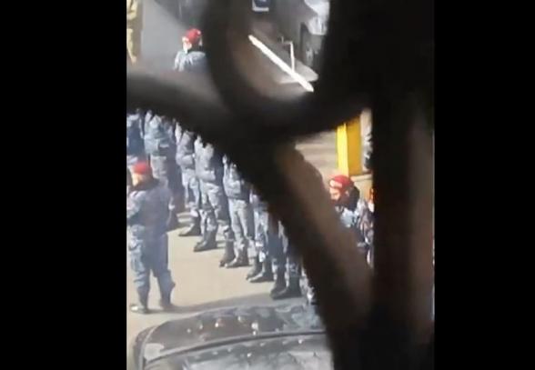 ՀՀԿ գրասենյակն առավոտվանից պաշարված է ոստիկանական ուժերով (տեսանյութ)
