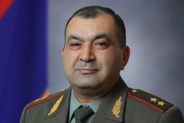Тиран Хачатрян освобожден от должности первого заместителя начальника Генштаба ВС