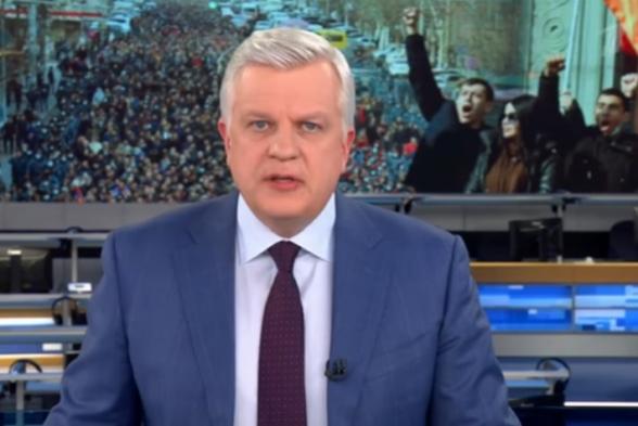Первый канал России обратился к нашумевшему заявлению Пашиняна и напряженной политической обстановке в Армении (видео)
