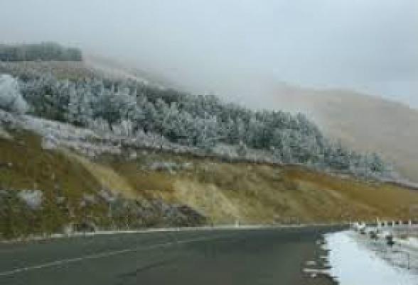 Հայաստանի 6 մարզերում ձյուն է տեղում