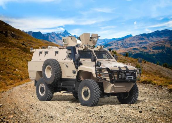 Թուրքական Otokar-ը ներկայացրել է Cobra-2 զրահամեքենայի հակաականային պաշտպանությամբ տարբերակը