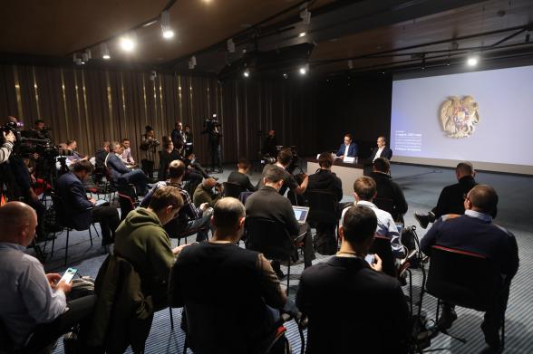 Роберт Кочарян дал пресс-конференцию ведущим российским СМИ (фото)