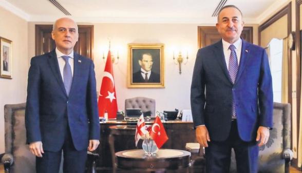 Թուրքիայի և Վրաստանի ԱԳ նախարարներն ասուլիսի ժամանակ խոսել են արցախյան խնդրից