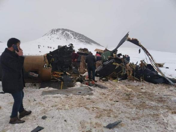 При крушении военного вертолета в Турции погиб генерал, помогавший Азербайджану вести войну в Карабахе