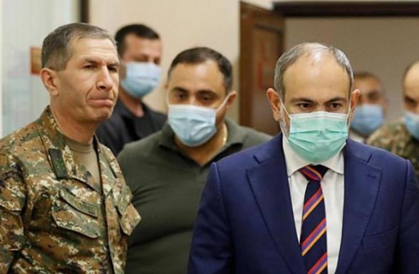 Противостояние правительство Армении с Вооруженными силами Республики Армения имеет два возможных исхода