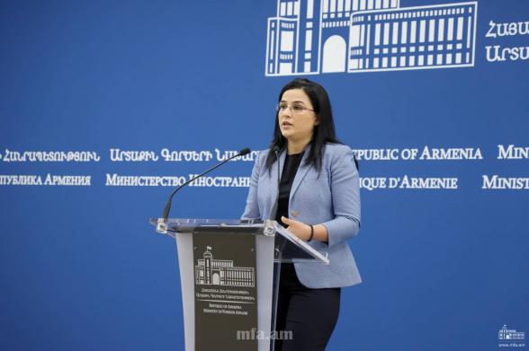 В трехстороннем заявлении нет слов о каком-либо коридоре: ответ МИД Армении на заявления Алиева