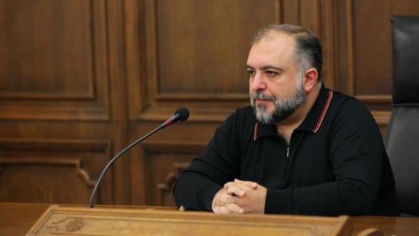 Ваагн Тевосян назначен на назначаемую должность без сложения депутатского мандата