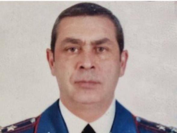 Полковник полиции Артур Харатян поддерживает Генштаб и требует отставки Пашиняна
