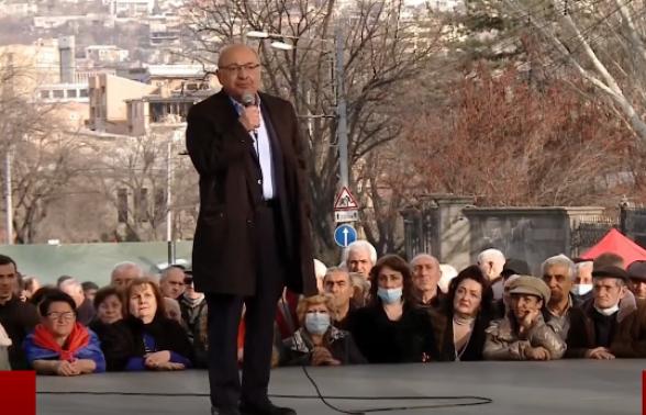 Вазген Манукян: «Мы очень терпеливый народ» (видео)