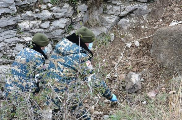 Վարանդայի և Ջրականի շրջաններում իրականացված որոնողական աշխատանքների ընթացքում հայտնաբերվել է ևս 2 զինծառայողի աճյուն․ Արցախի ԱԻՊԾ
