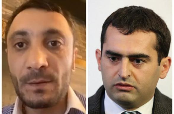 Журналист Пайлак Фахрадян: «На меня напал министр Акоп Аршакян» (видео)